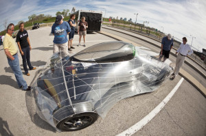 Ready, set, go! MindDrive uses social media as fuel for an electric car