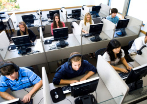 Creating a positive work environment for call center outsourcing