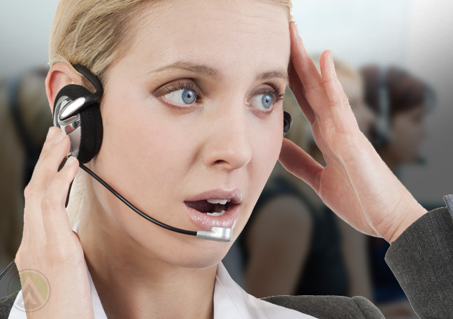 call-center-agent-apologizing-to-angry-customer-on-the-phone-Open-Access-BPO