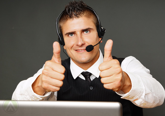customer-support-agent-successfully-solves-angry-customers-concern--Open-Access-BPO