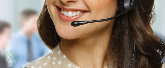 female-call-center-agent-reducing-hold-time-during-a-call-with-customer--Open-Access-BPO