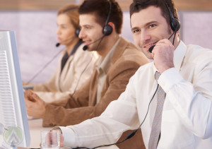 male-call-center-agent-collecting-customer-service-feedback-from-customer--Open-Access-BPO