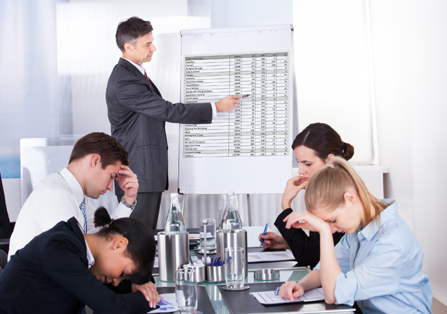 frustrated-team-listening-to-training--Open-Access-BPO