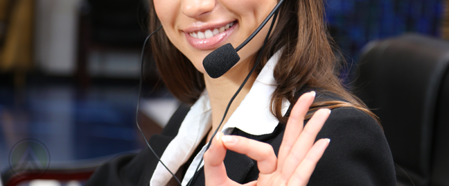 female-call-center-agent-excellent-hand-gesture