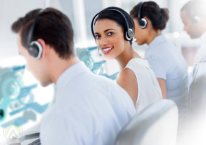 call-center-agents-smiling