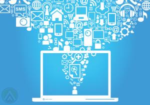 laptop-sms-social-media-internet-icons