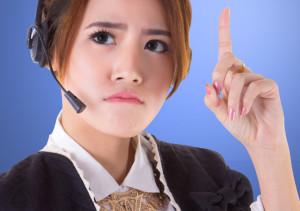 thinking-female-call-center-agent