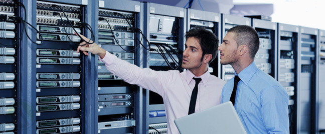 two-male-in-data-center-room