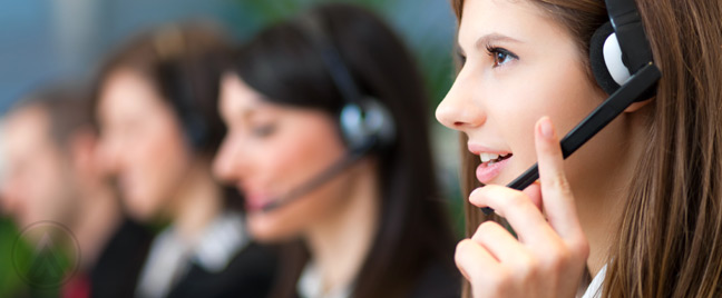 female-outbound-call-center-agent