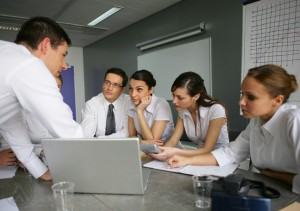 in-house-content-moderation-team-in-a-conference-with-the-boss