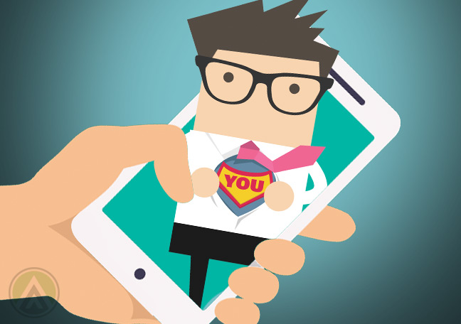 superhero-in-smartphone