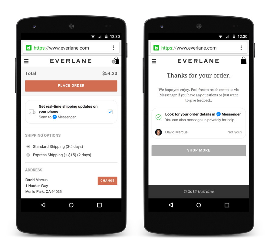 Facebook--Messenger--with-Everlane-integration-mobile-app--full