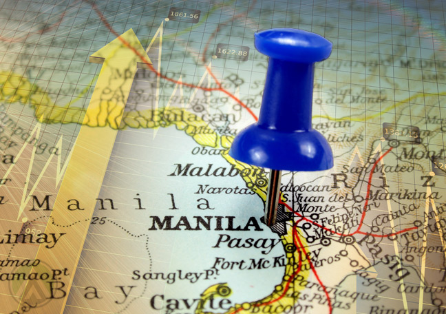 Philippine-map-with-pin-on-Manila