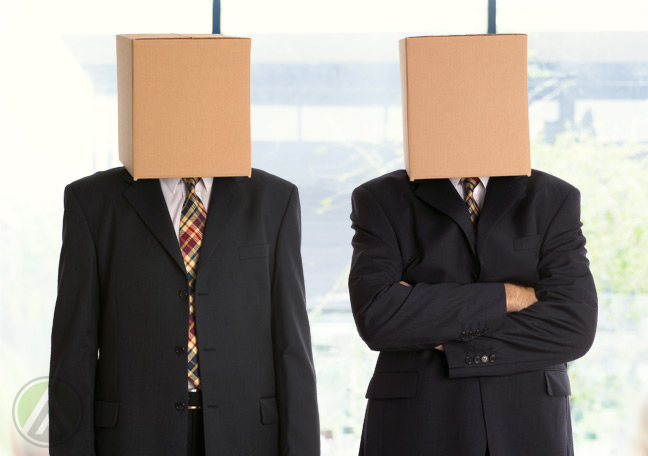 businessmen-wearing-boxes-on-head