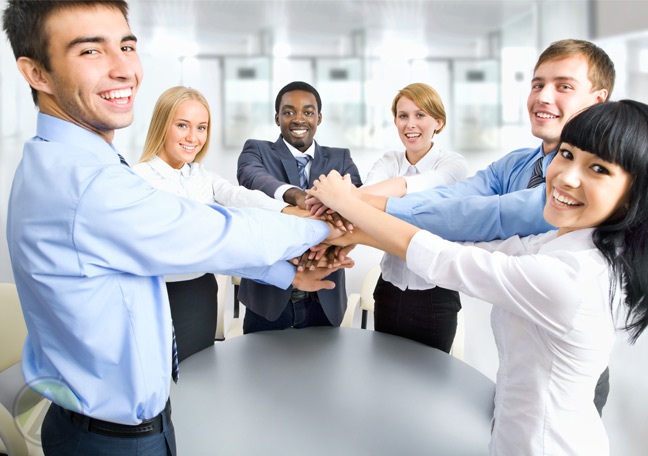 diverse-business-team-holding-hands