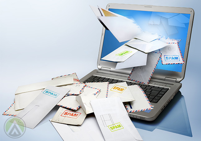 unopened-spam-mails-piling-on-laptop