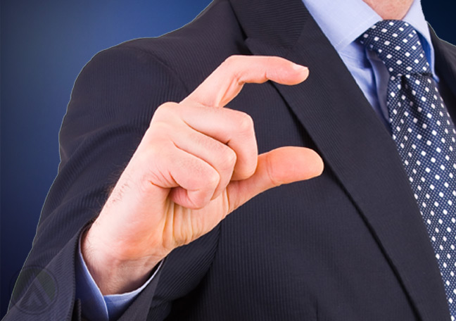 businessman-doing-hand-gesture-for-small-or-short