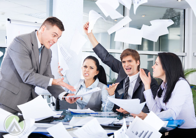 panicking-business-team-in-a-PR-crisis