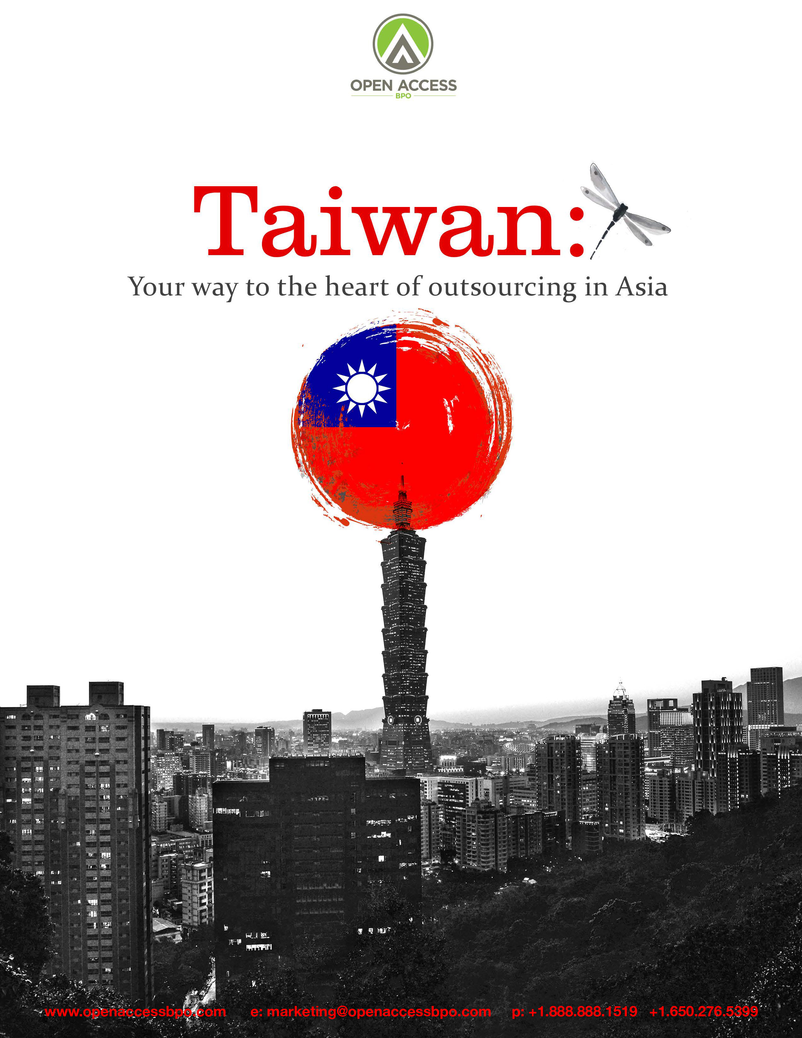 Taiwan: Your way to the heart of outsourcing in Asia