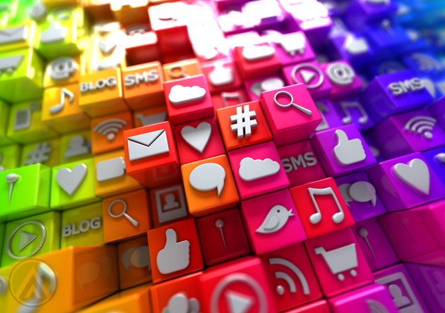 colorful-plastic-blocks-with-social-media-icons
