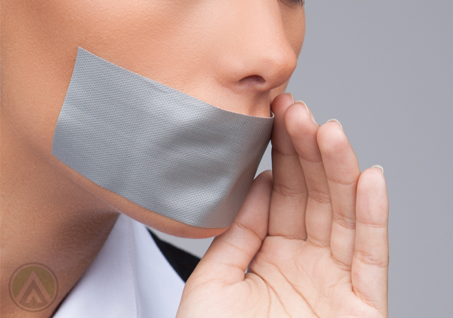 female-business-employee-trying-to-speak-tape-cover-mouth