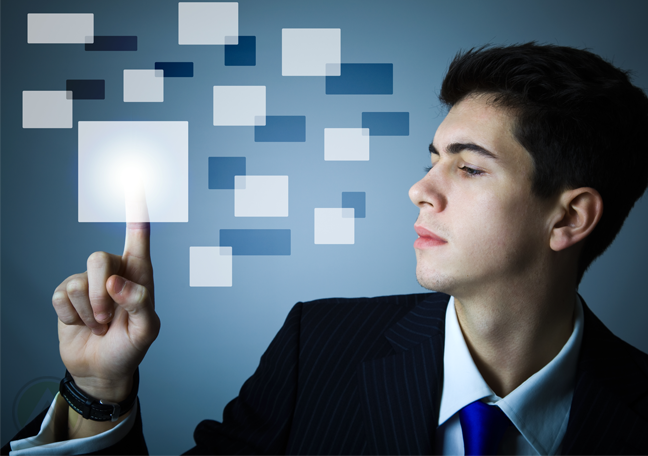 male-millennial-using-technology-virtual-user-interface-UI