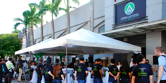 Open-Access-BPO-Davao-office-facade-during-its-launch