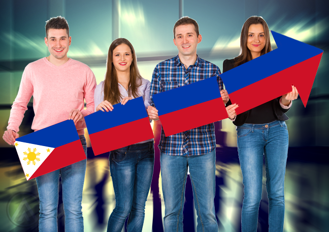 millennials-young-people-holding-philippine-flag-rising-arrow