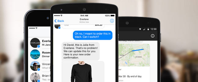 Facebook boosts marketing and business with new 'Businesses on Messenger'