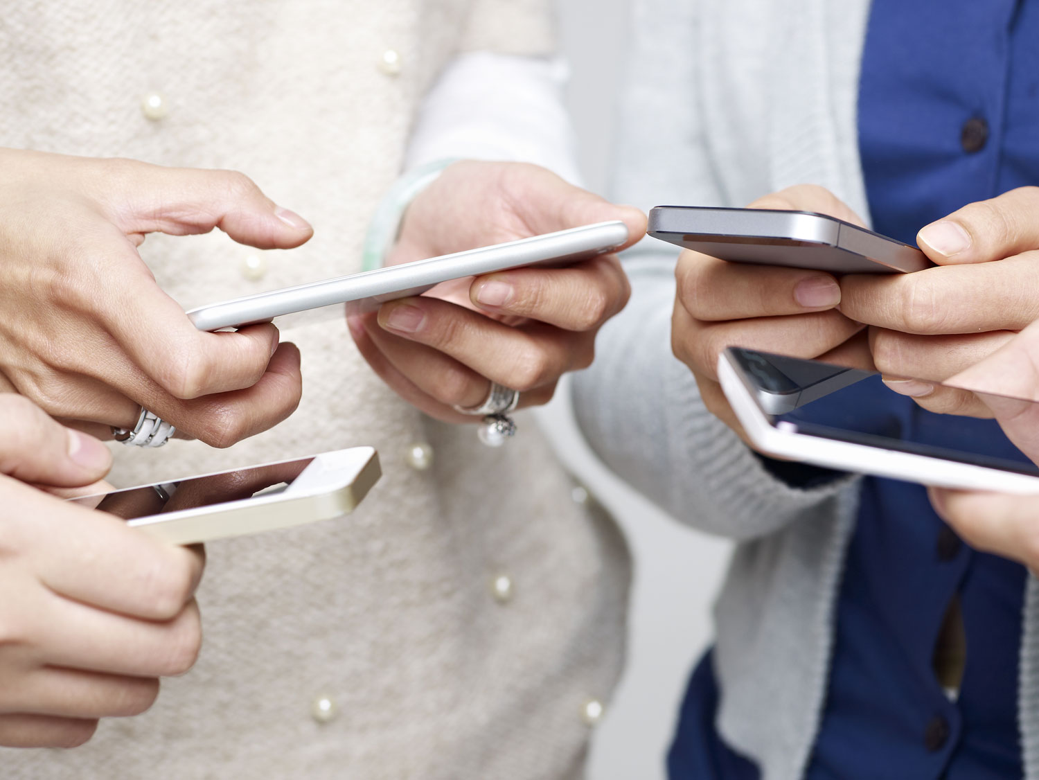 chinese ecommerce customer hands online shopping on mobile phone