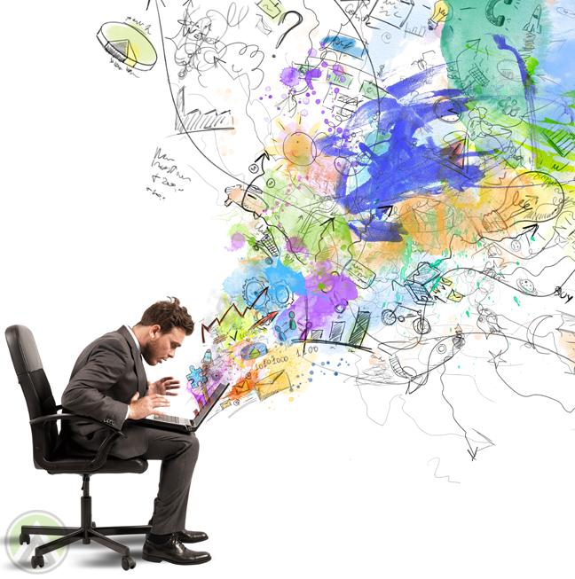 businessman-surprised-at-laptop-colorful-doodles