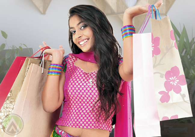 female-indian-carrying-shopping-bags