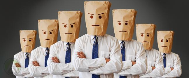 evil-employees-wearing-paper-bag-masks
