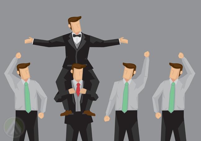 men-carrying-man-in-suit