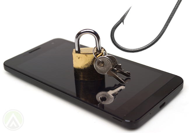 smartphone-with-padlock-keys-reached-by-fish-hook