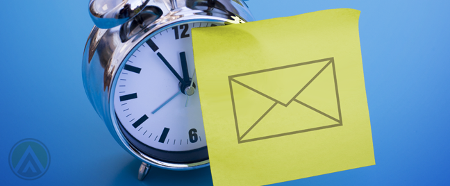 Timing your marketing emails to boost conversion