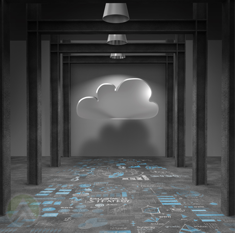 hallway-with-cloud-wall-computations-floor