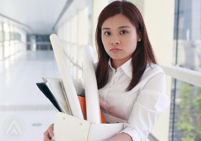 Asian-female-resigned