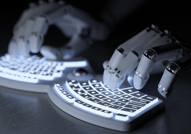 robot-hands-using-keyboard