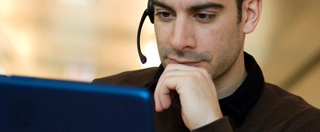 male-call-center-agent-deciding