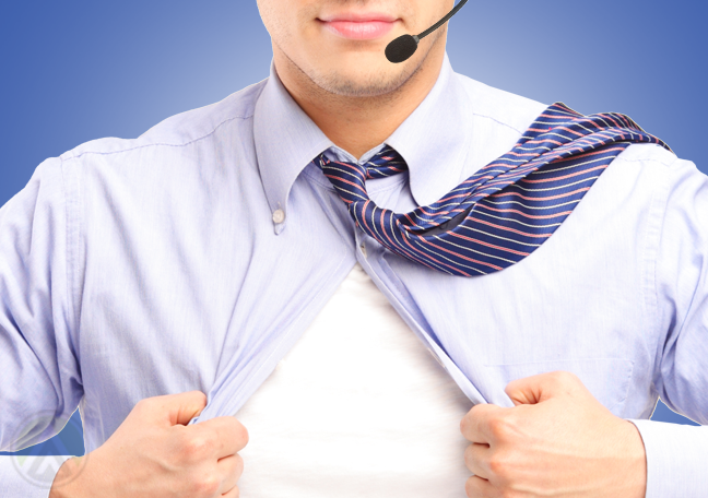 male-telemarketing-agent-ripping-open-shirt