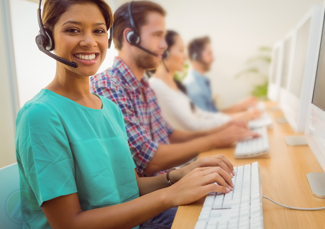 smiling-Filipino-female-call-center-cagent-in-customer-service-call