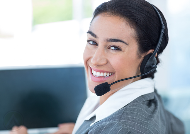 smiling-delighted-female-call-center-agent