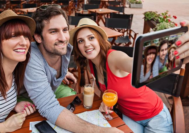 young-caucasian-people-millennials-taking-selfie-in-restaurant