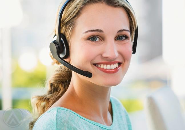 smiling-female-call-center-agent
