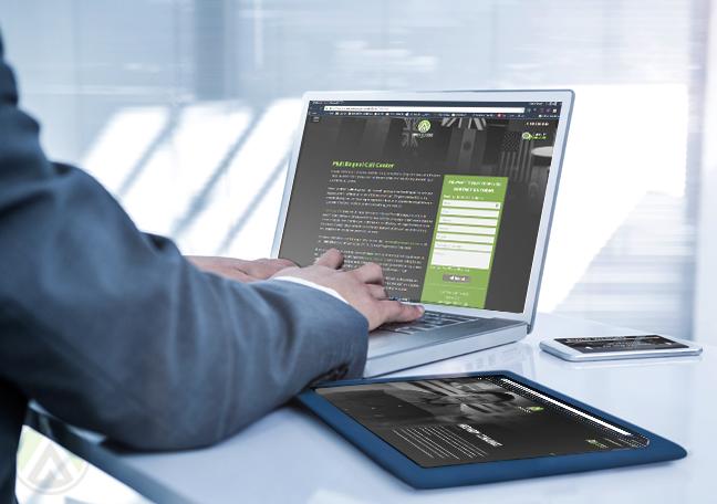businessman-using-laptop-on-Open-Access-BPO-website