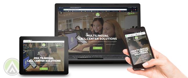 Open Access BPO unveils new web design