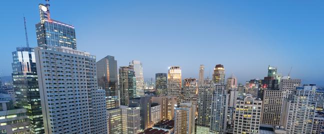 Philippine cityscape