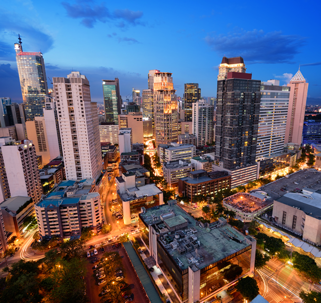 night city scape urban jungle buildings