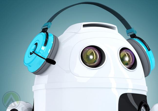 robot customer service call center representative